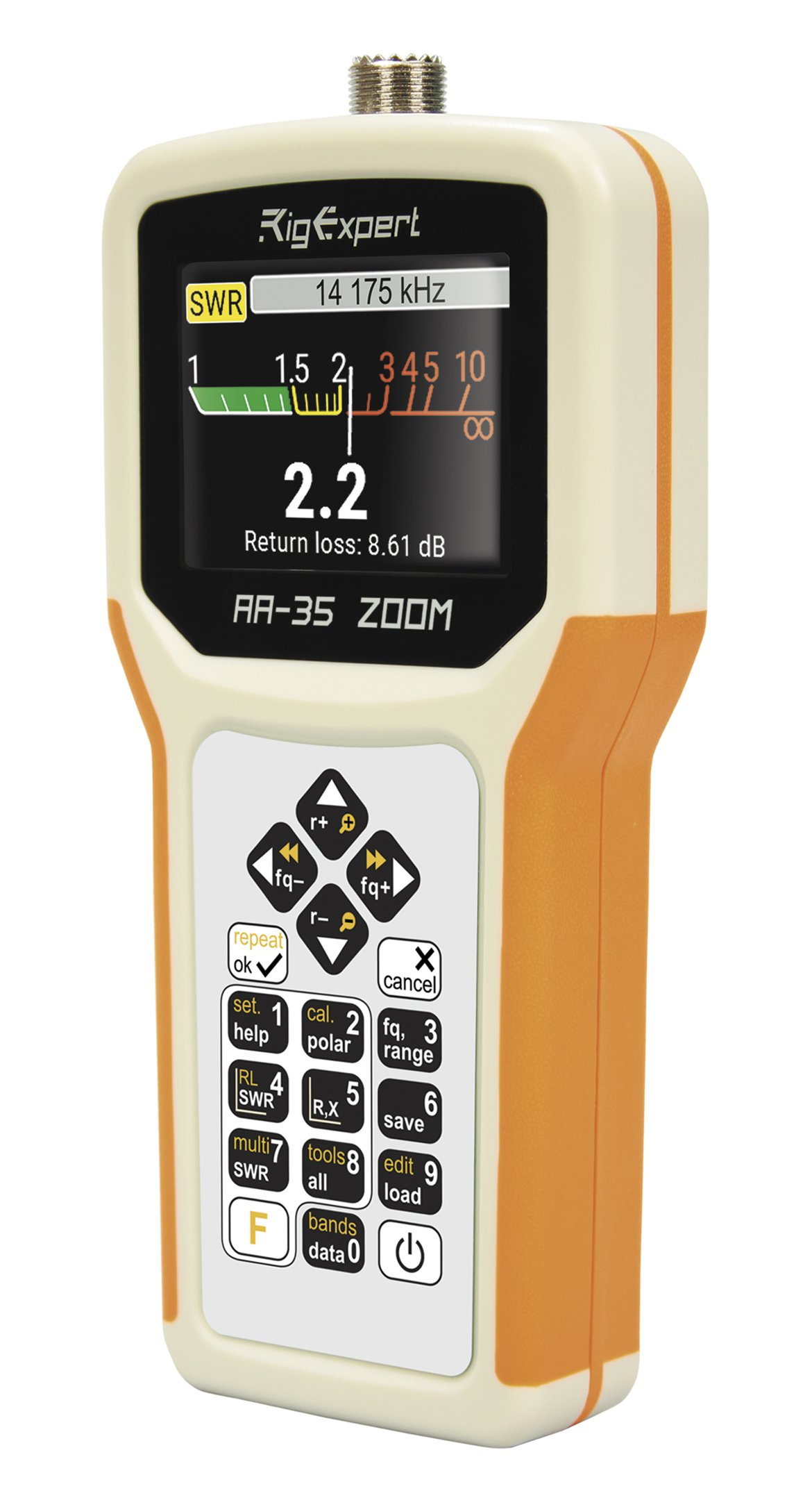 RigExpert AA-35 ZOOM HF Antenna Analyzer (60kHz - 35MHz) by RigExpert