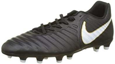 info for 5fd26 94bd4 Nike Tiempo Rio Iv FG, Chaussures de Football Homme, Noir White/Black 002