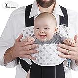 Protège sangles - bavoir - housse – protection – pour porte bébé Babybjoern & Ergobaby ADAPT – pour fille et garçon – set de 3 pièces en fibres de bambou & coton - de Baby Preferred