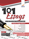 101 Essays for IAS/ PCS & other Competitive Exams