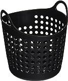 "StealStreet SS-KD-1616-BLACK, 4.25 Inch Mini Laundry Basket Office Supply Organizer, Black, 4.25"""