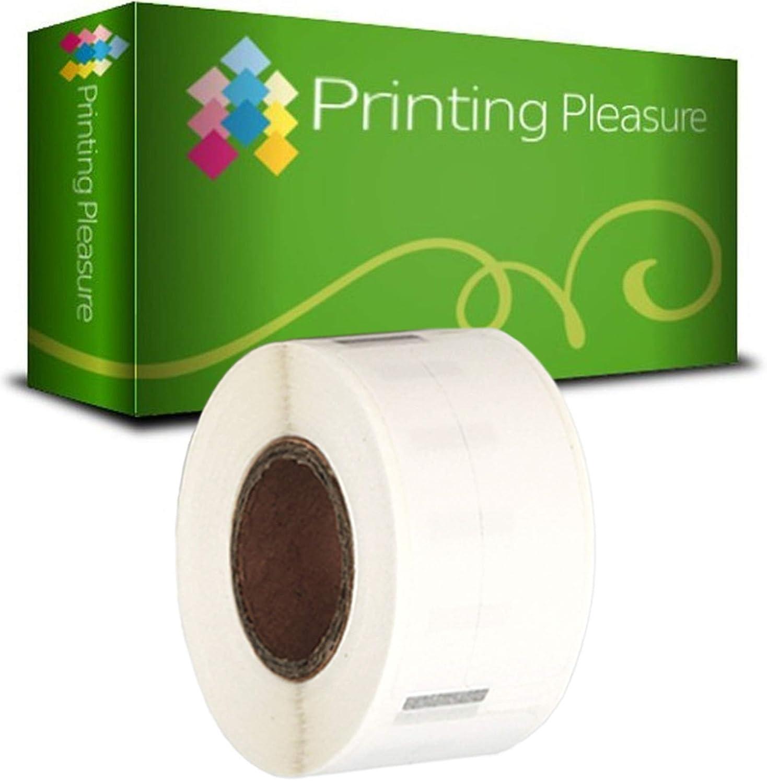 130 Etichetta per Rotolo 28mm x 89mm Printing Pleasure 10 x 99010 Rotoli Etichette adesive compatibile per Dymo LabelWriter /& Seiko Stampante per Etichette