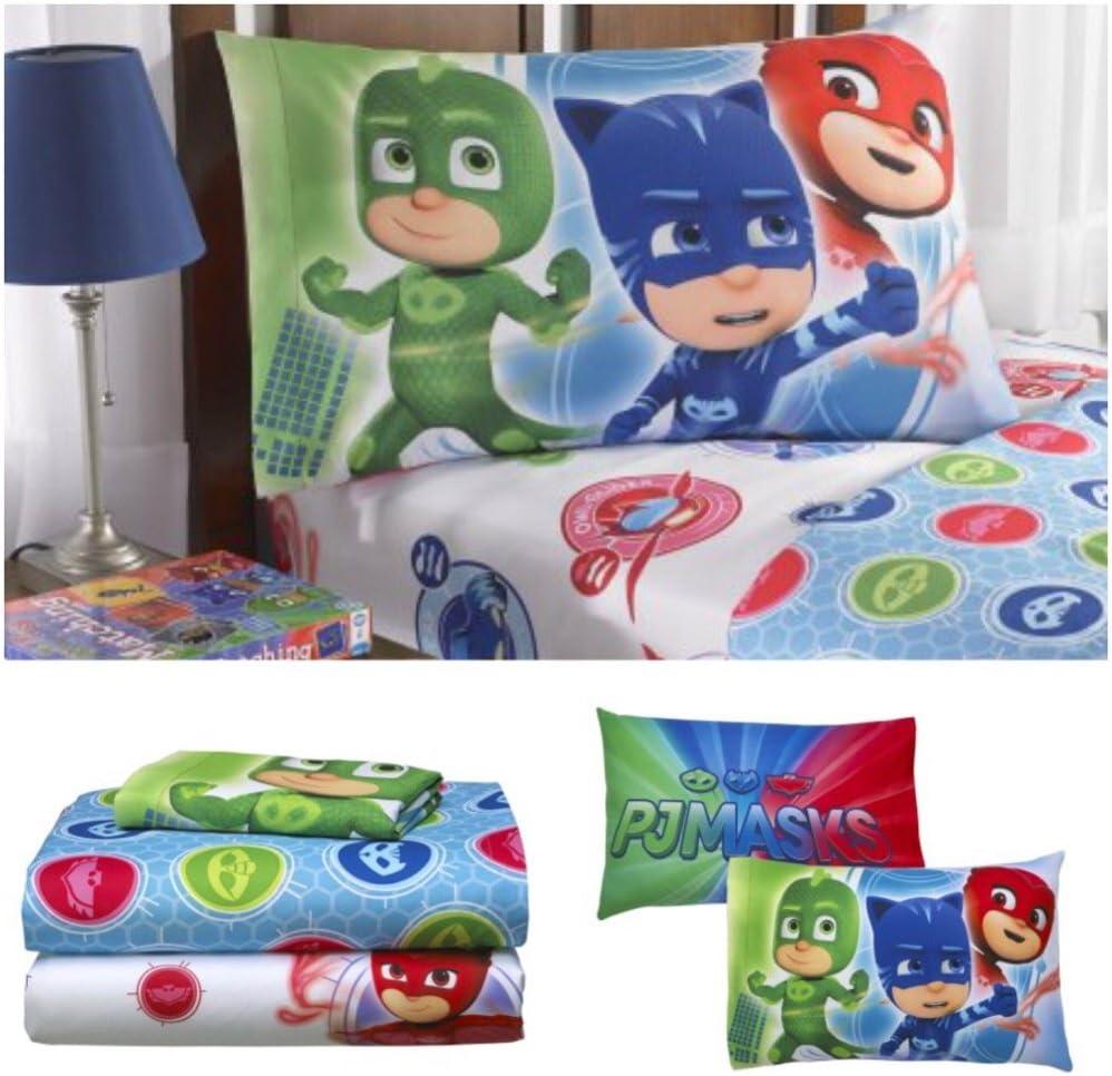 PJ Masks Kids Twin Bedding Sheet Set (Twin)