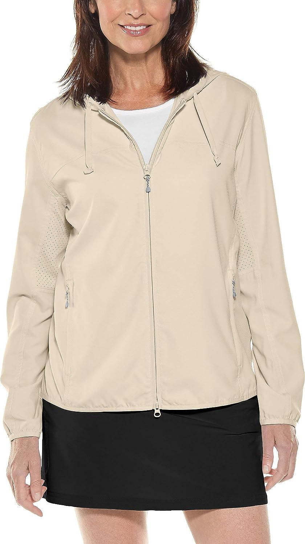 Khaki Coolibar UPF 50+ Women's Packable Sunblock Jacket  Sun Predective