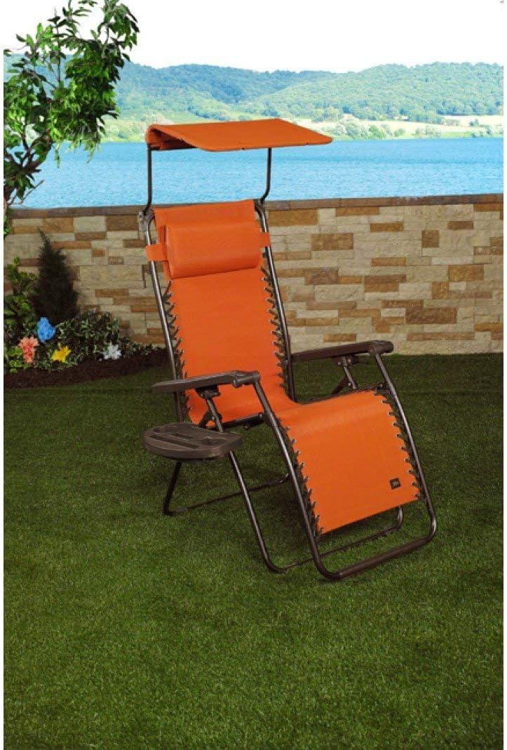 Bliss Hammocks Gravity Free Recliner Chair Terra Cotta