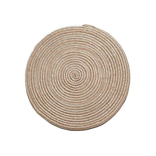 Amazon De Lez Teppich Weben Runde Fester Teppich Computer Stuhl
