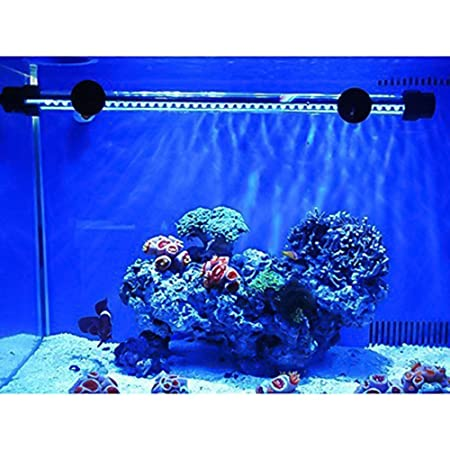 SUBOSI FVTLED Cambia Color Lámpara de Acuario 6.5W 57CM 30 Luces SMD5050 IP68 LED Lampara Tira Pecera Sumergible Submarino Luz: Amazon.es: Hogar