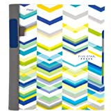 """Five Star Advance Spiral Notebook, 2 Subject, College Ruled Paper, 120 Sheets, 11"""" x 8-1/2"""", Chevron Design (73143)"""