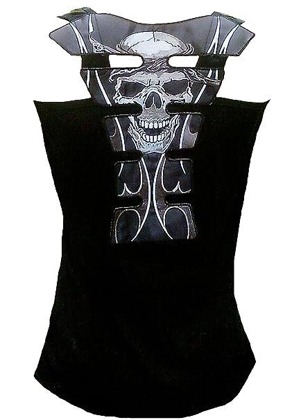 dRockabilly Punk Rock Baby - Camiseta sin Mangas - para Mujer Negro Negro