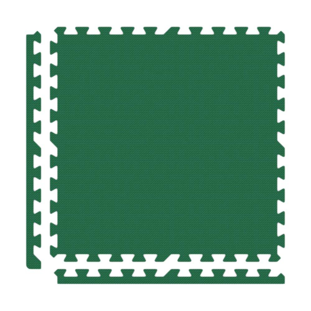 Alessco Eva発泡ゴム酷使プレミアムソフト床グリーン 6' x 8' グリーン SFGN0608 6' x 8'  B007VMR044