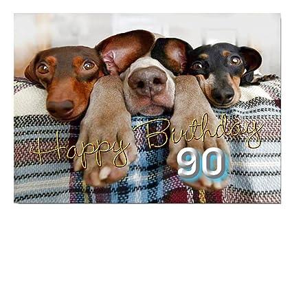 DigitalOase - Tarjeta de felicitación 90 cumpleaños tarjeta ...