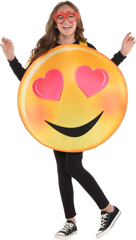 amscan 8400852-55 - Disfraz Infantil de corazón con Ojos para You ...