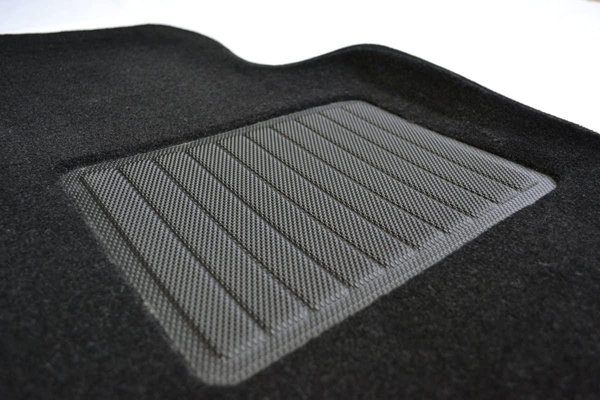 GGBAILEY D4226A-S1A-GY-LP Custom Fit Automotive Carpet Floor Mats for 1995 1996 1998 Geo Metro Coupe Grey Loop Driver Passenger /& Rear 1997