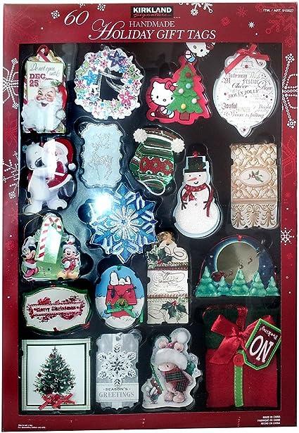 Kirkland 60 Luxury Hand Made Handmade Gift Xmas Christmas Gift Tags Cards