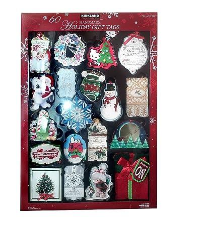 kirkland signature 60 handmade 3d holiday gift tags - Christmas Tags Handmade
