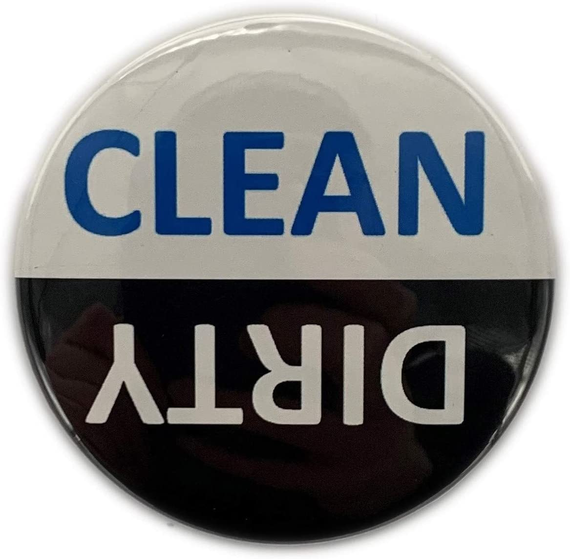 "Dishwasher Magnet Dirty or Clean (2 1/4"") Premium Made in USA Flip Magnet Dish Washer Chores Ends Common Problems Save Time Waterproof and Durable Non Scratch Two Easy to See"