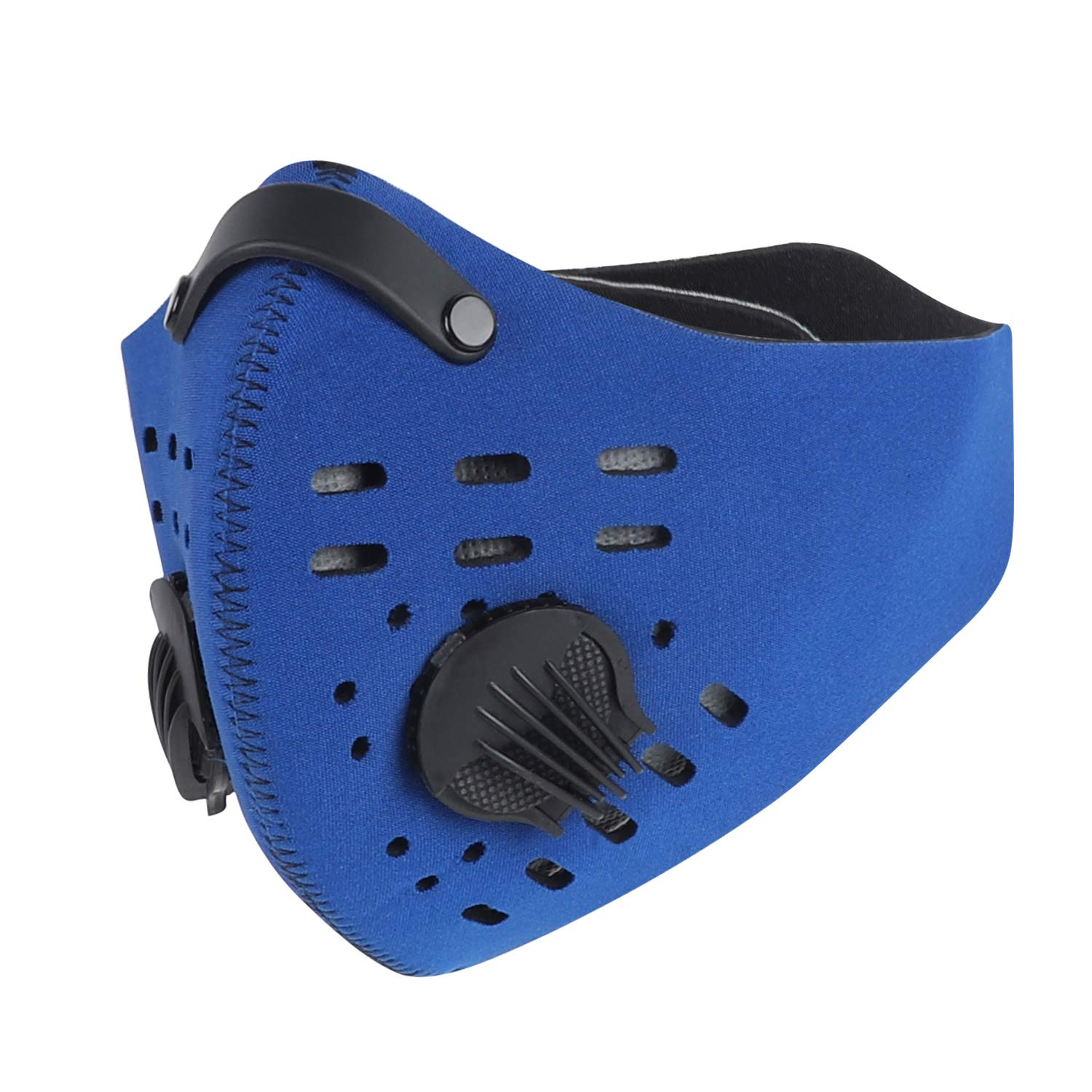 West Biking Mesh Dust Pollution Mask For Air Filtration Sport Mask With Exhalation Valves Filters Activated Carbon N99 Pm2 5 Filters Air Purifier 01 Buy Online In Jamaica At Desertcart