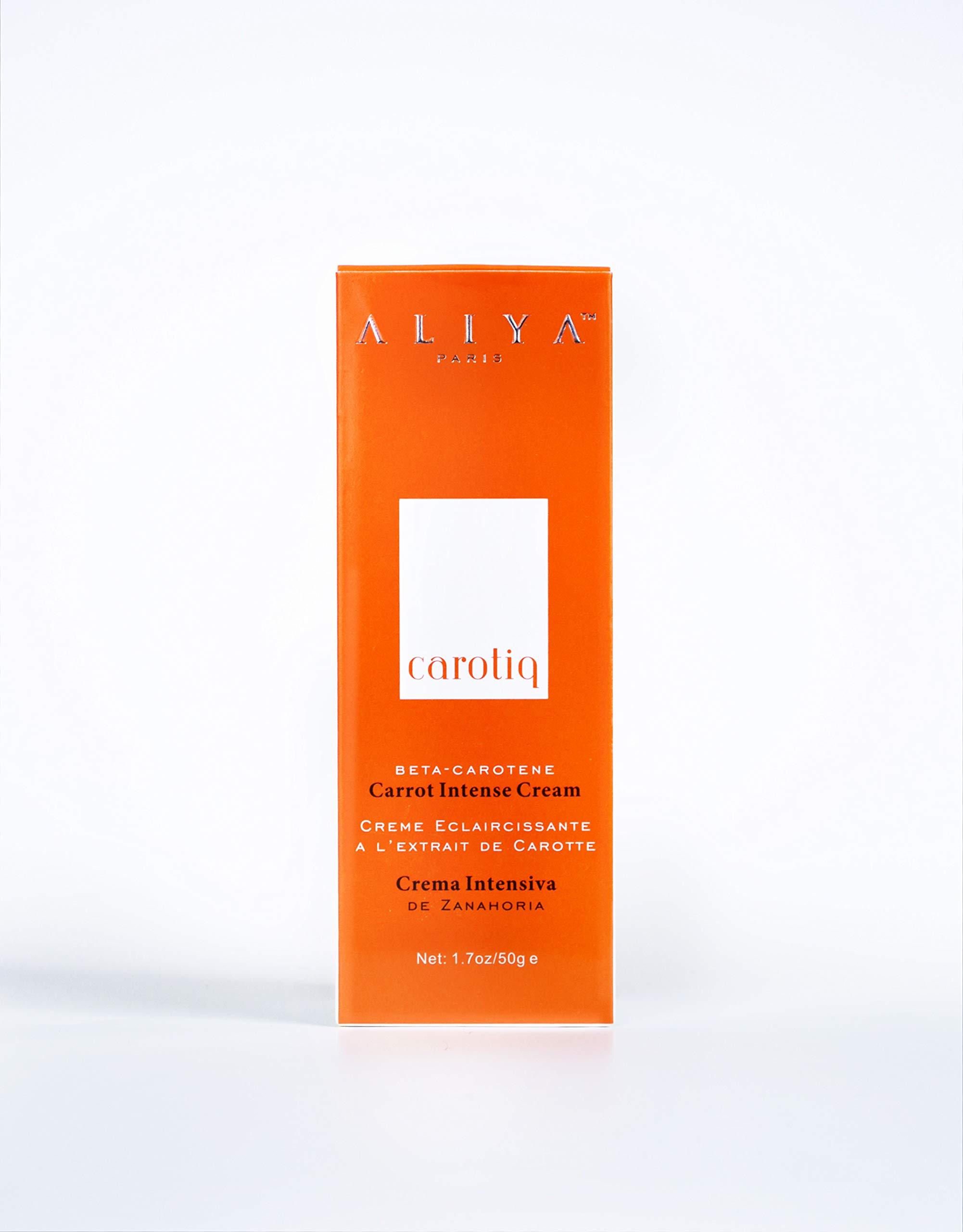 Aliya Paris Carotiq Carrot Cream 1.7 oz.