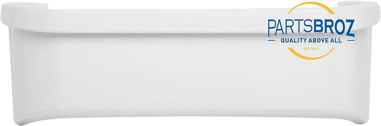 UpStart Components Brand 2-Pack 240351601 Refrigerator Freezer Door Bin Side Shelf Replacement for Frigidaire PLHS67EGSB4 Refrigerator Compatible with 240351601 Door Bin