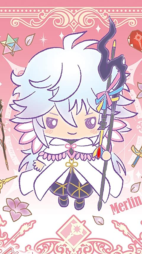 Fate マーリン  XFVGA(480×854)壁紙画像