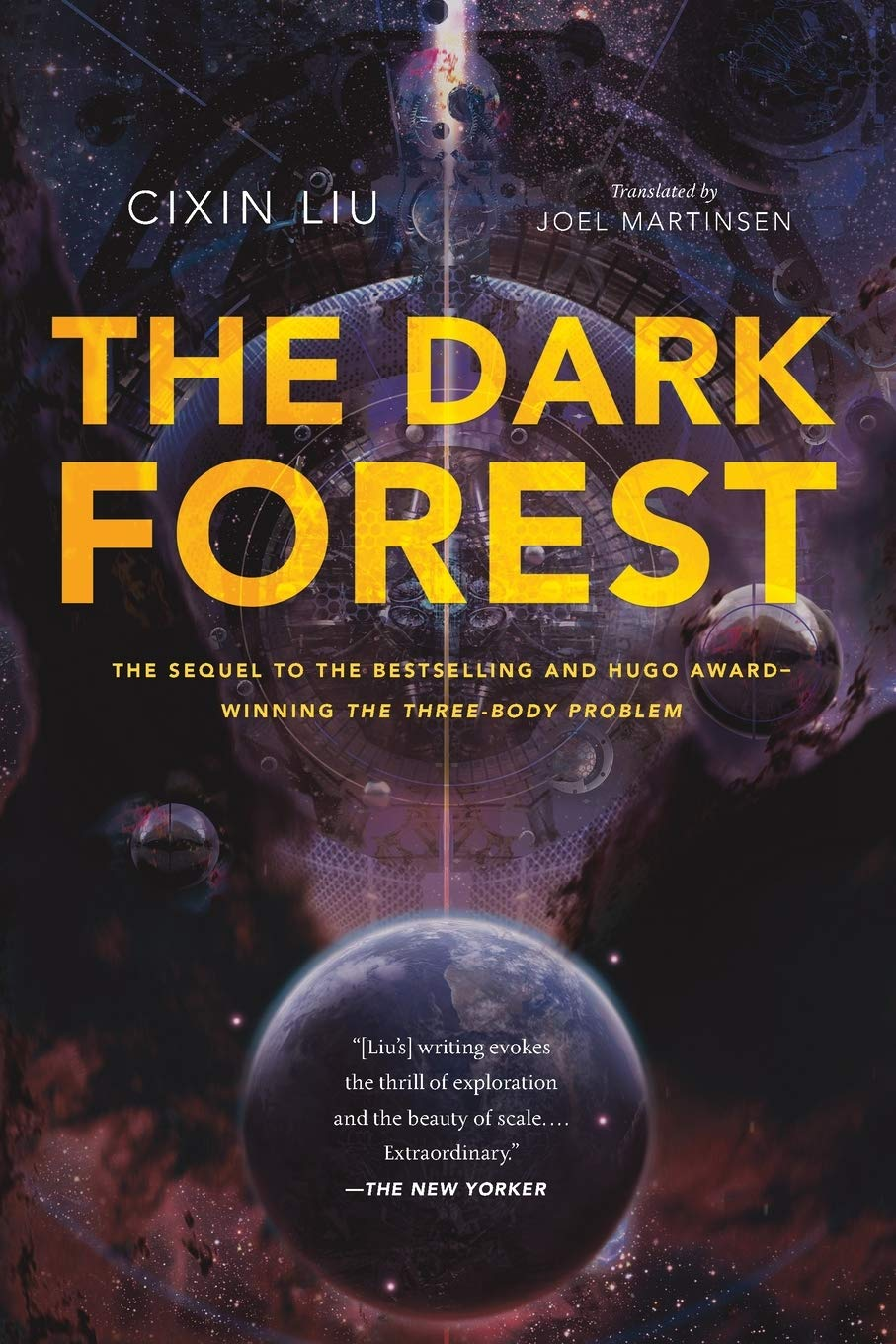 The Dark Forest book cover
