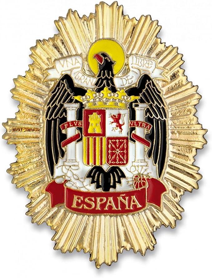 Outletdelocio. Placa Metalica Escudo Aguila de España. Especial ...