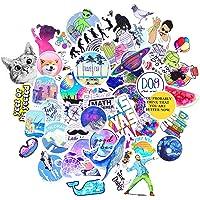 MysReal Office Sticker Pack 53 Pcs Stickers, Funny Meme Vinyl Stickers for Laptop, Water Bottle, iPai, Skateboard…