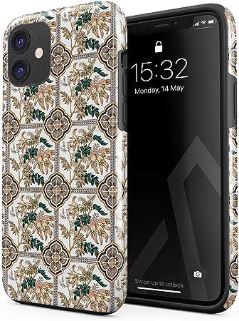 Burga Hülle Kompatibel Mit Iphone 12 Mini Blume Elektronik
