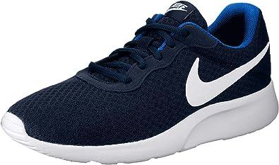 Humanista montaje Ejecutable  Nike Tanjun - 812654414 - El Color Blanco-Azul-Azul Marino - Talla: 14.0:  Amazon.com.mx: Ropa, Zapatos y Accesorios