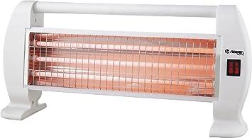 Estufa/radiador de Cuarzo RaydanHome 26027. 1200W, 3 potencias, alta eficiencia energética