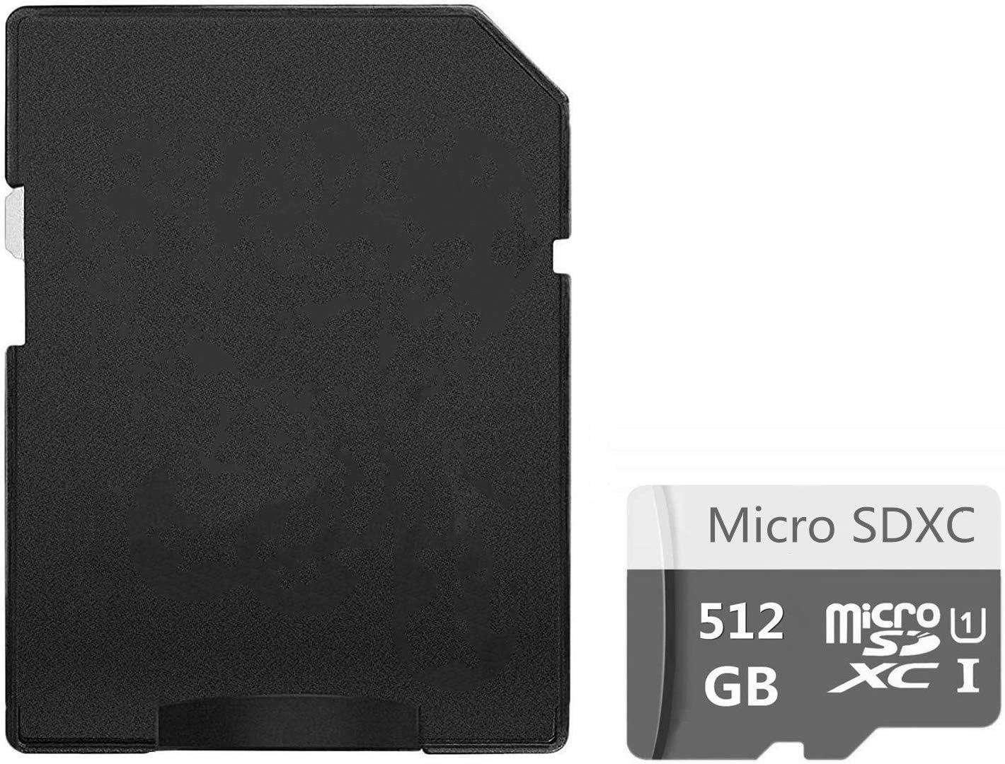 Tarjeta Micro SD de 400 GB de alta velocidad clase 10 Micro SD SDXC con adaptador 512 GB