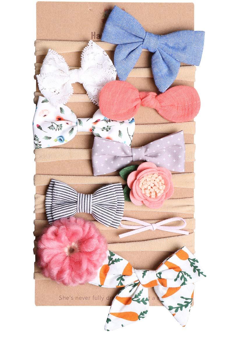 80912 Xiaoyu neonata fasce e archi elastico neonato neonato bambini foto prop cappelli accessori per capelli