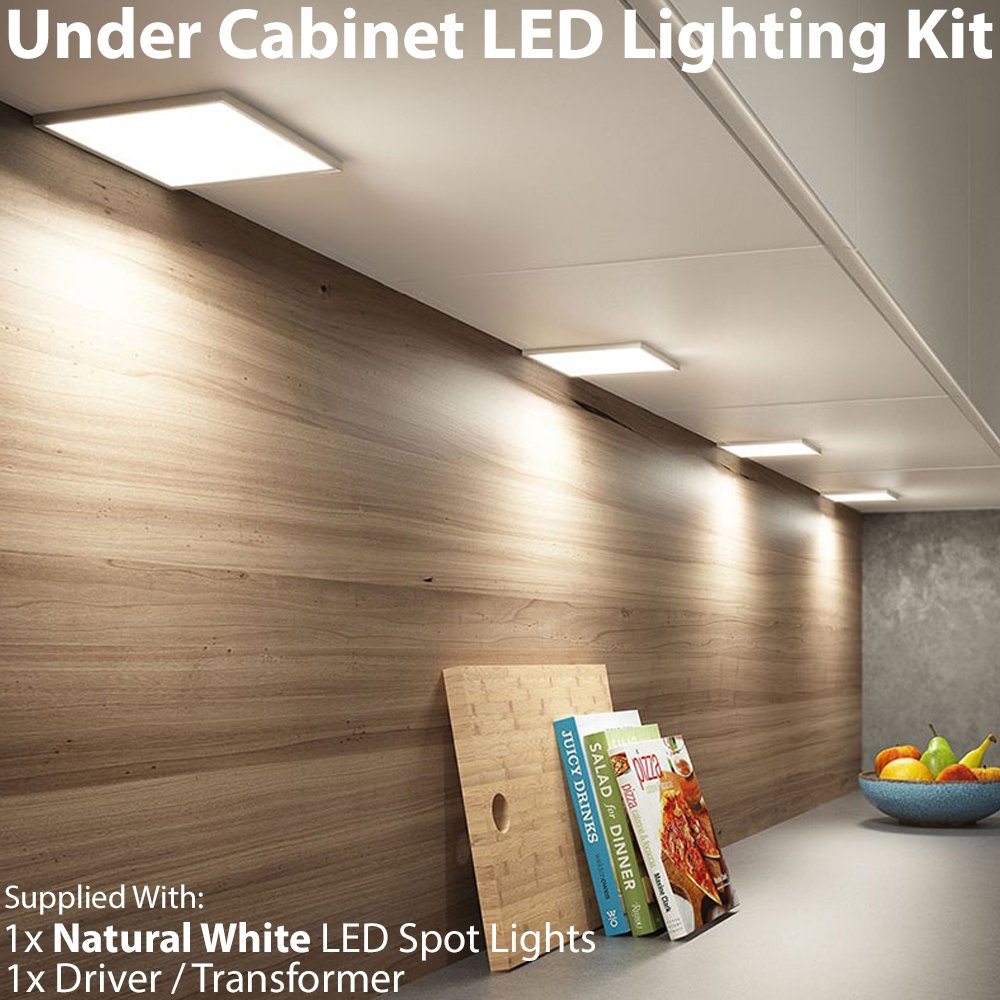 CableFinder bianco naturale Down luci sottopensili 1 x 6 W LED ...
