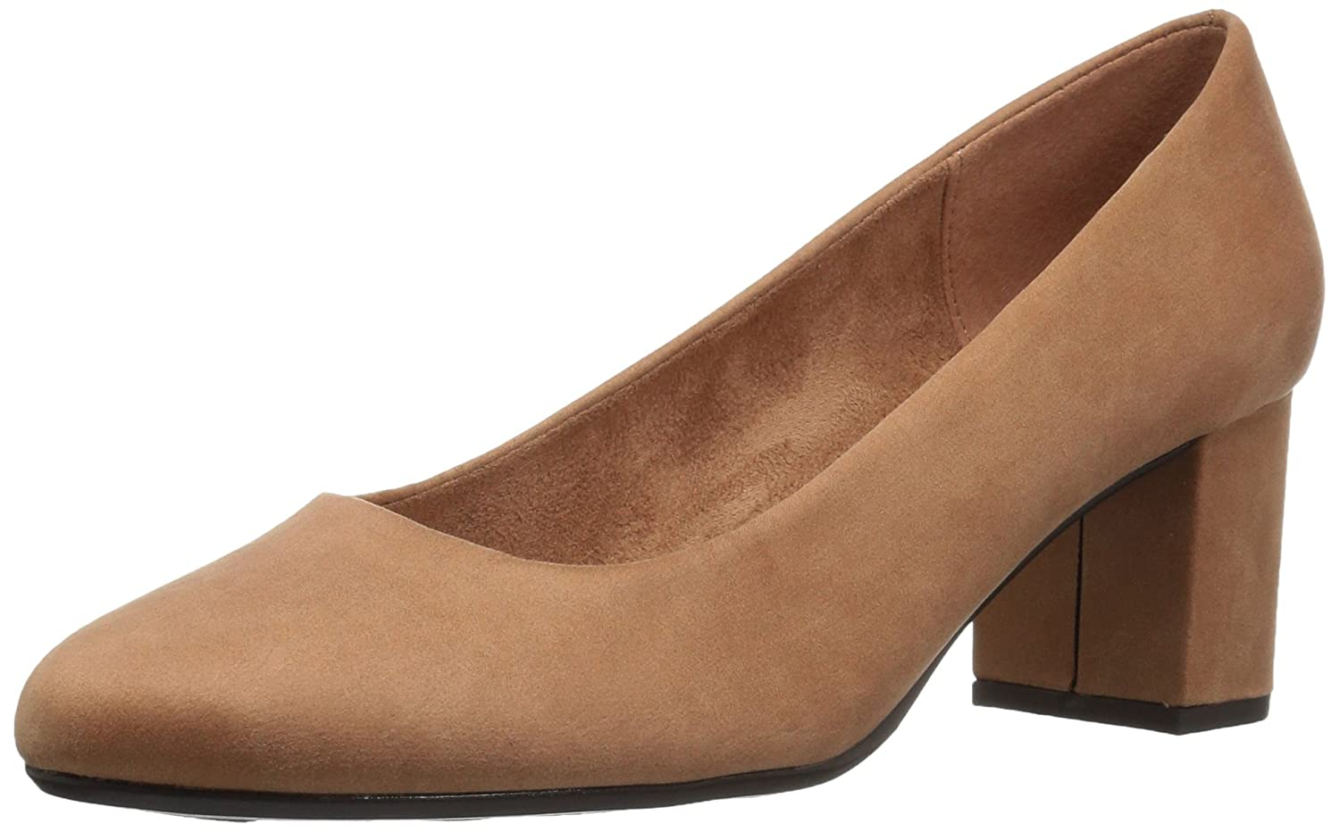 Easy Street Women's Proper Dress Pump B072M2S5Y9 7 N US|Sand Super Suede