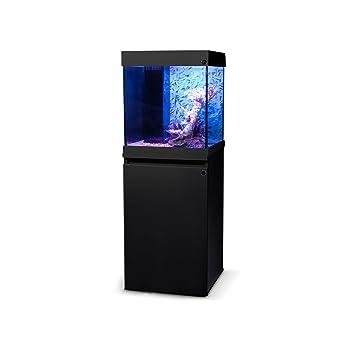 Haquoss LED Dream 40, Acuario completo con soporte, lámpara LED, Sump y accesorios