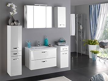Badezimmer Komplett Set Bad Badezimmerprogramm Mobel 5 Teilig