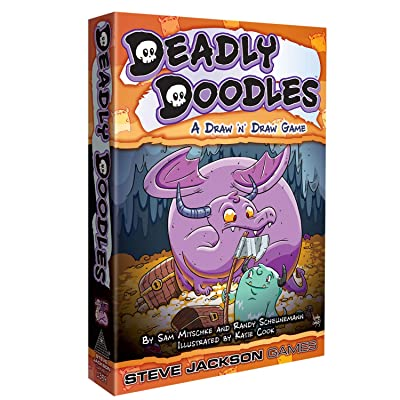 Deadly Doodles: Toys & Games