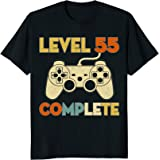 Level 55 Complete 55th Birthday Funny T-Shirt