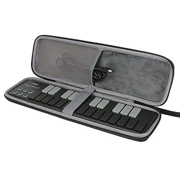 para Korg Nano Slim Line MIDI Keyboard/DJ Drum Pad/ USB Controlador Afinador Almacenamiento