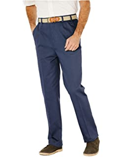 6d6c4310 Chums Mens Men's High Rise Teflon Coated Smart Trouser Pants: Amazon ...