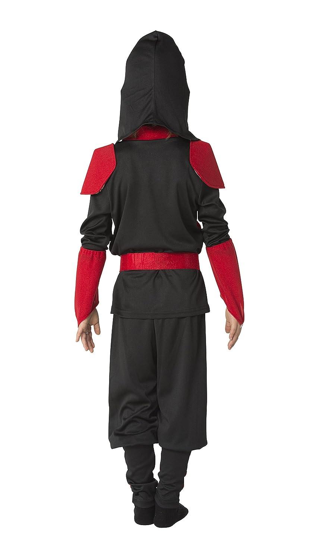 Traje de los ninos Ninja combate chico de 140 cm [Borrar ...