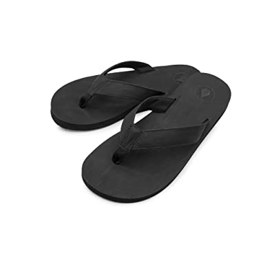 6c56b2388 Amazon.com  Volcom Men s Fathom Synthetic Leather Sandal FLIP Flop ...