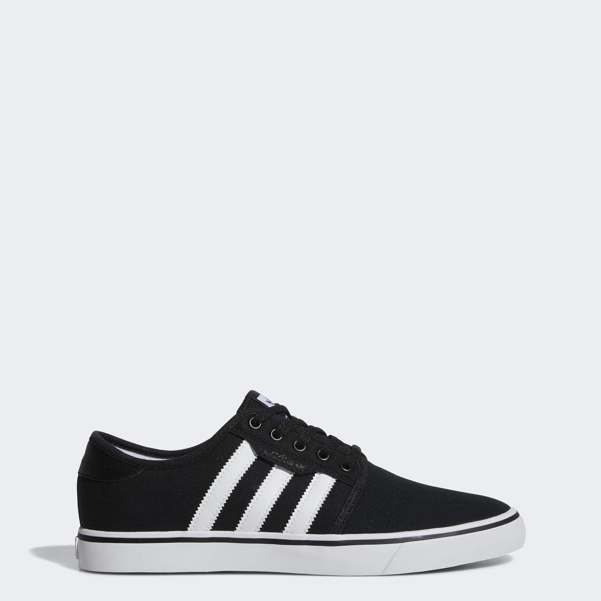 adidas Originals Men's Seeley Running Shoe, Black/White/Gum, 9 M US by adidas Originals