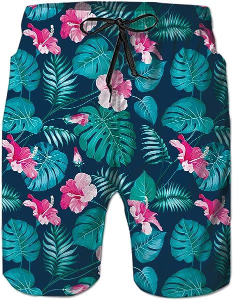 Isuper Banador Banadores De Mujer Secado Rapido Banadores Pantalones Cortos De Natacion Para Surf Playa Verano Vacaciones Traje De Bano Hojas Mujer Deportes Y Aire Libre