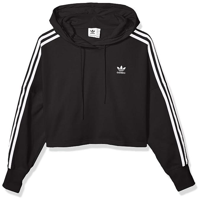 Felpa da Donna Adidas Originals Large Logo Hoodie Cappuccio