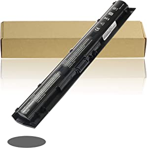 BULL-TECH K104 Laptop Battery Replacement for HP Pavilion 14-ab 14T-ab 15-ab 15-an 17-g 17T-g Series TPN-Q158 TPN-Q159 HSTNN-LB6R HSTNN-LB6S 800049-001 800050-001 800009-421-Replacement Battery