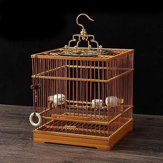 XWYGW Perrera Pájaro Portador Pueda Volar Cage, clásico ...