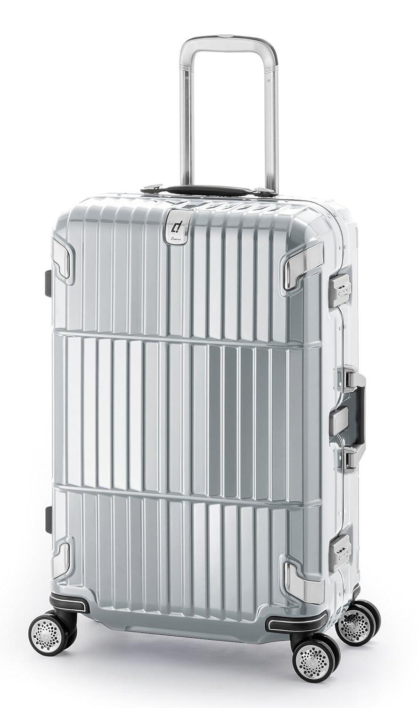 10年保証 80L/3辺150.5cm/5.5kg フレームタイプスーツケース A.L.I(アジアラゲージ) departure(ディパーチャー) HD-505-29 B01L44NH8C シャイニングブラッシュシルバー シャイニングブラッシュシルバー