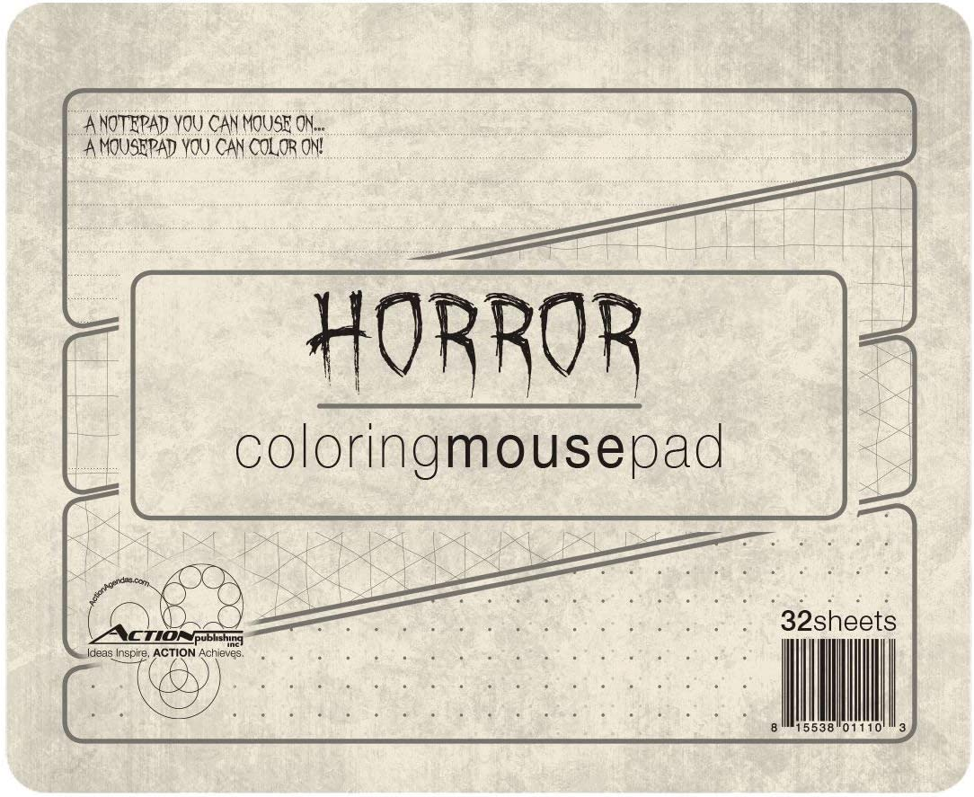 Nosferatu Horror List Book Great for Daily Lists or Notes 11 x 4.25 inches Side-Bound Vampire NoteBook Blood dripping on each page!