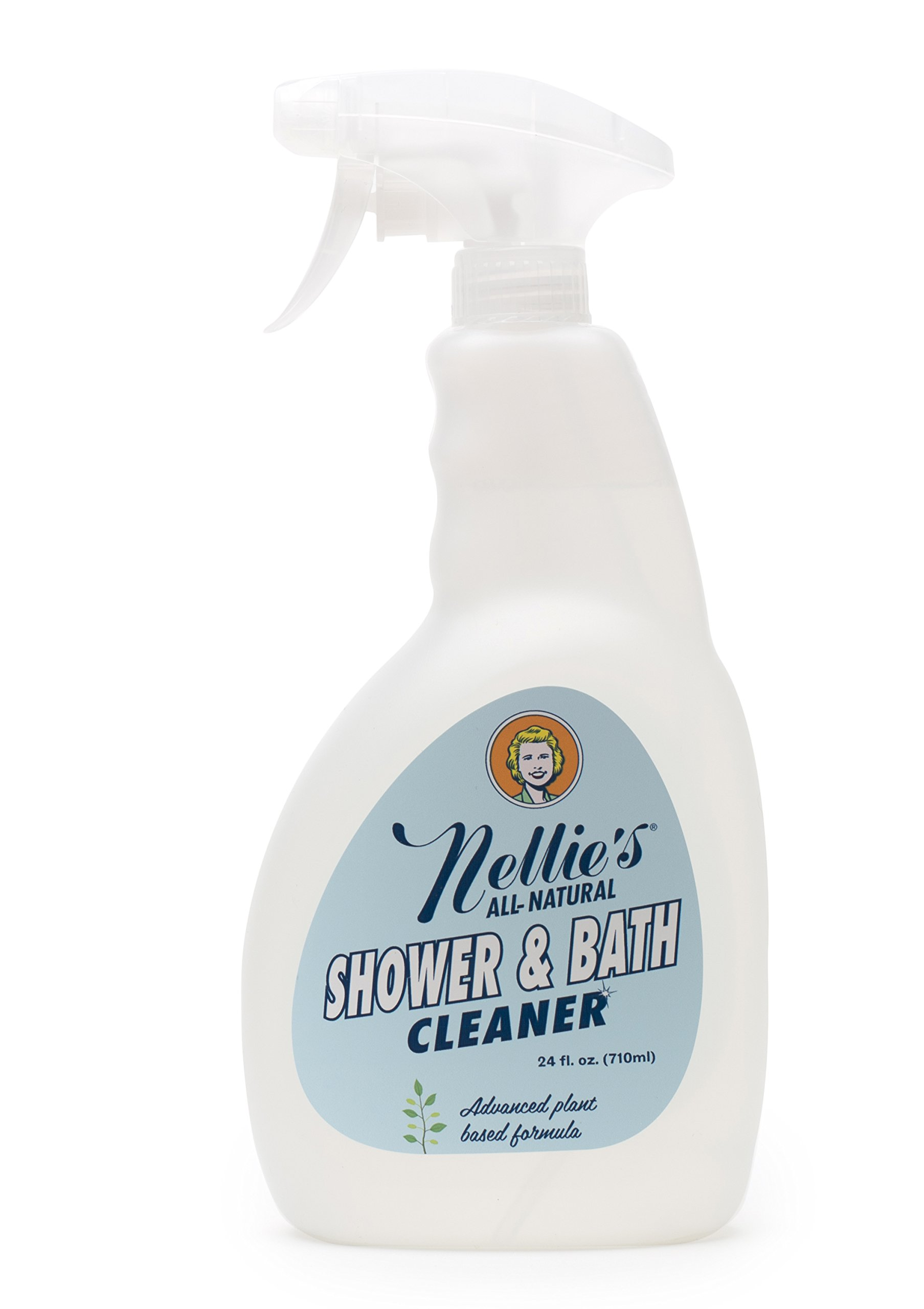 Nellie's All-Natural Shower and Bath Cleaner - Exceptional Green Cleaning Power + Eliminate Stubborn Bathroom Mold and Mildew + Free From Harsh Chemicals! by Nellie's All-Natural